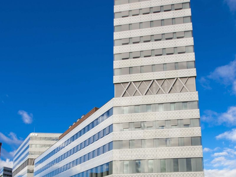 SEB-Bankens nya kontor i Solna